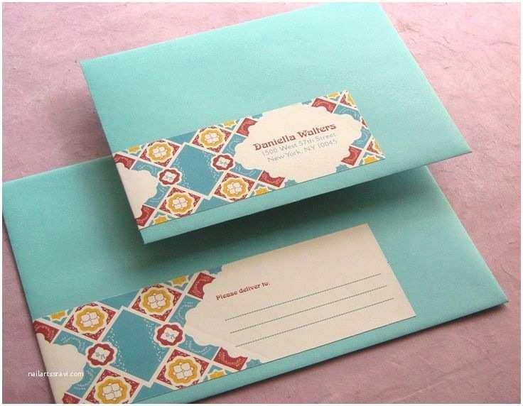 Talavera Wedding Invitations 79 Best Envelopes Images On Pinterest