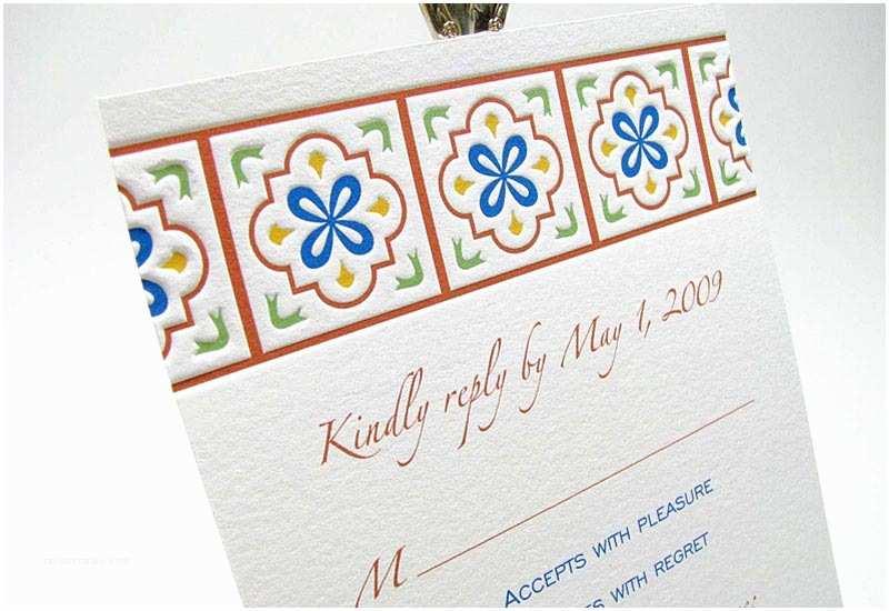Talavera Wedding Invitations Talavera Wedding Invitation