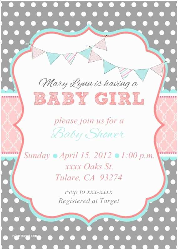 Target Baby Shower Invitations Tar Baby Shower
