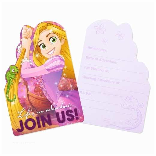 Target Birthday Invitations 8ct Rapunzel Birthday Invitations Tar