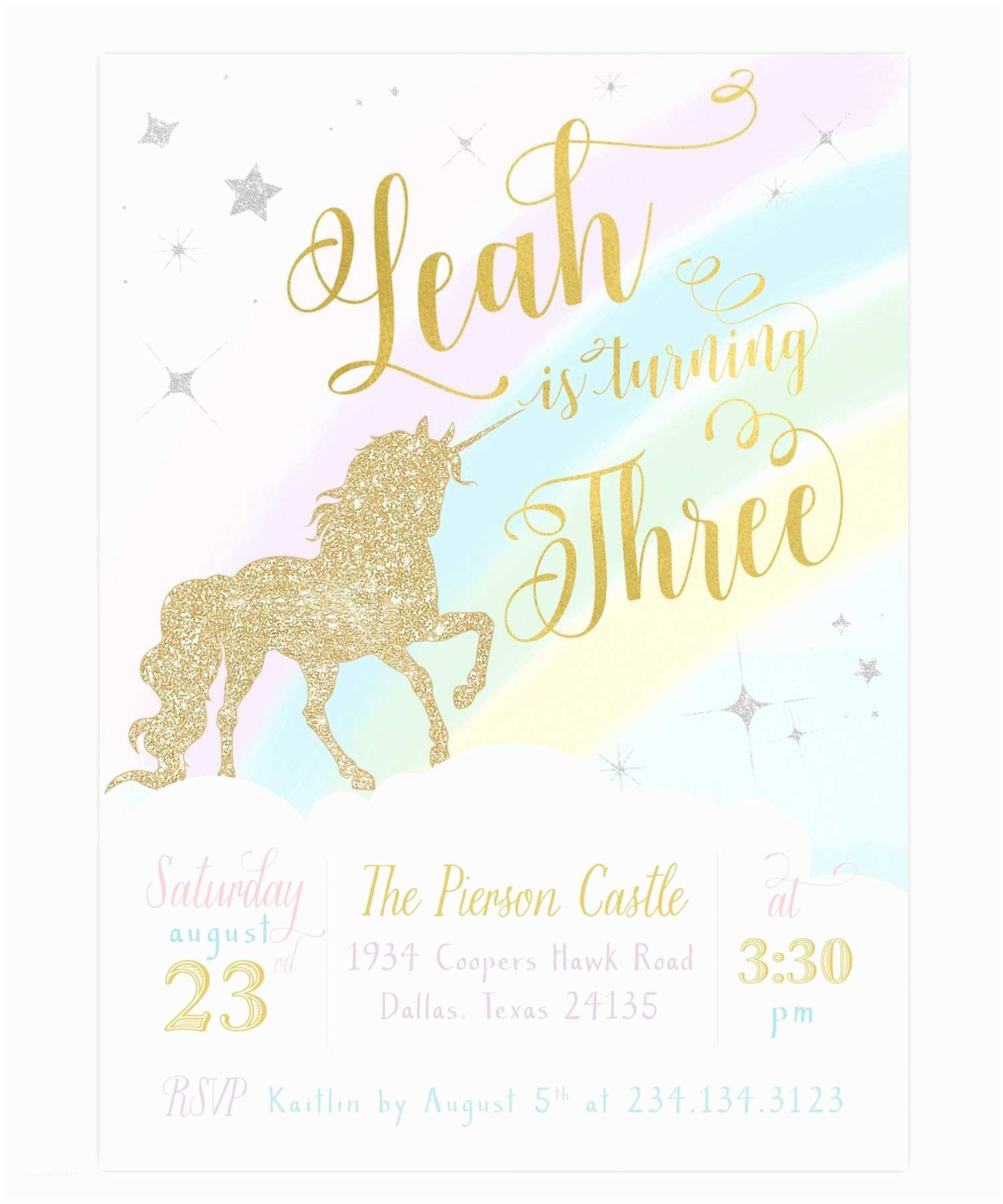 Target Birthday Invitations Birthday Party Invitations Unique Unicorn Birthday Party