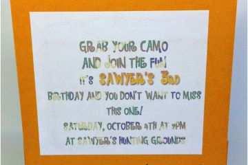 Target Birthday Invitations Tar Image