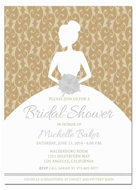 Target Bridal Shower Invitations Bridal Shower Invitation Pick Any Color Bo Bride