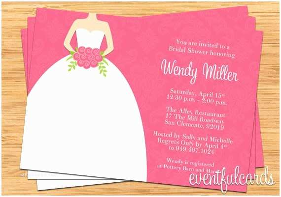 Target Bridal Shower Invitations Pink Damask Bridal Shower Invitation by eventfulcards