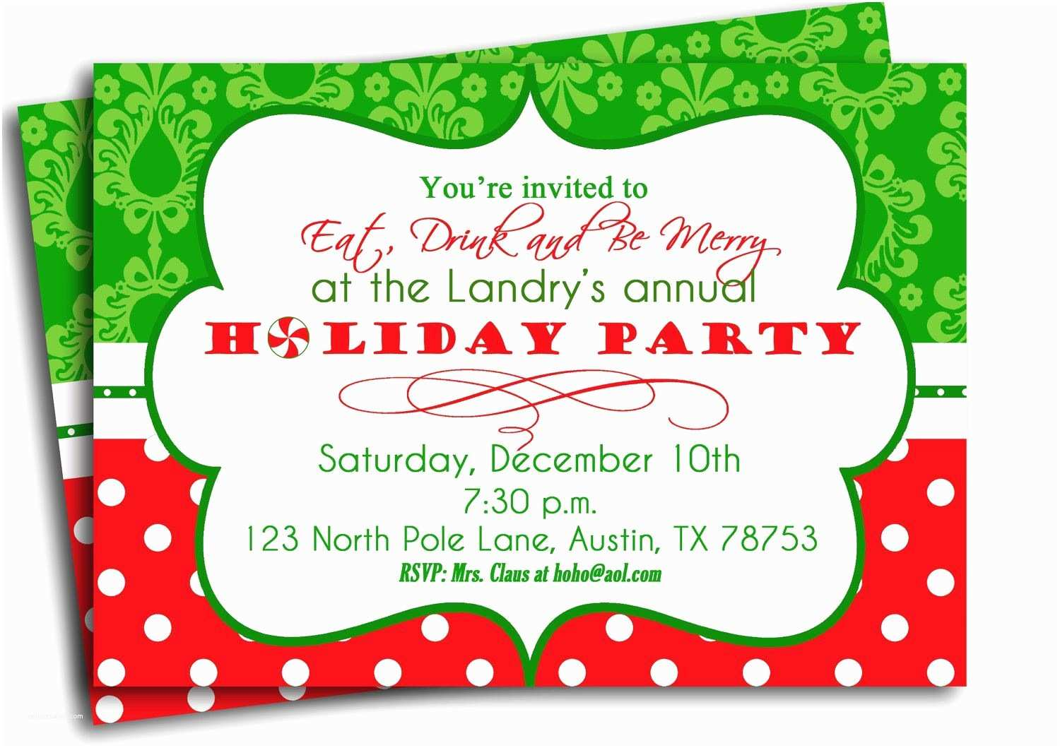 Target Party Invitations Christmas Party Invitation Template Christmas Party