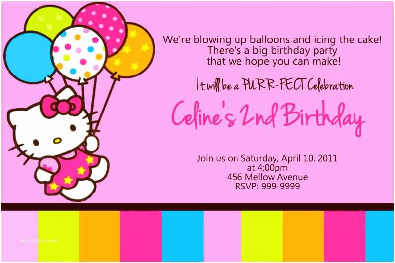 Target Party Invitations Hello Kitty Birthday Invitations Tar — Anouk Invitations