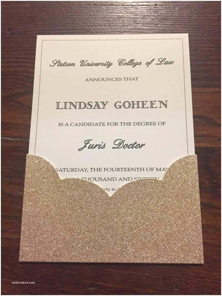 Target Wedding Invitations Law School Graduation Announcement Printed Blank Gar with