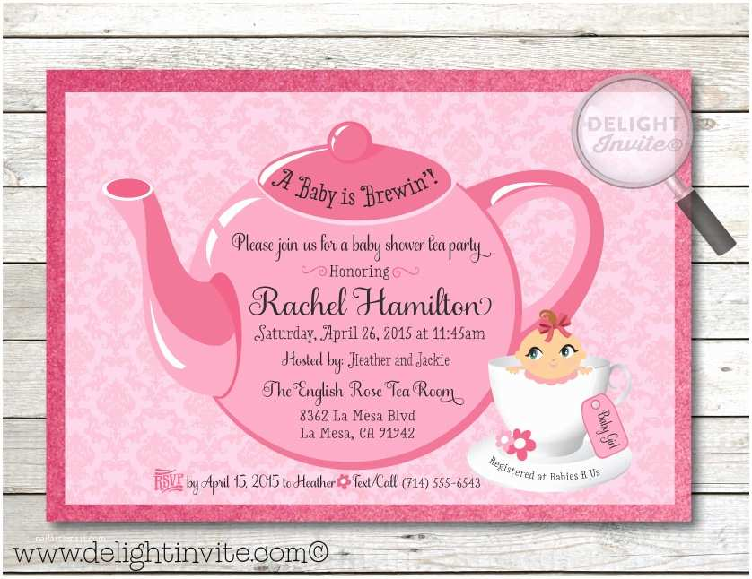 tea party baby shower invitation p 25