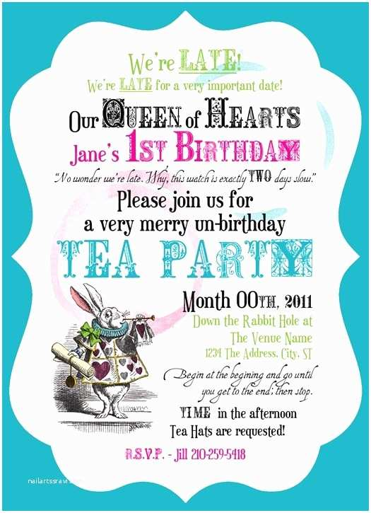 Tea Party Invitation Ideas Best 659 Mad Hatter themed Party Images On Pinterest