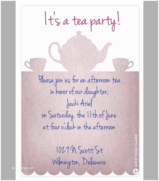 Tea Party Invitation Template Free Party Invitation Template Download In Psd Pdf