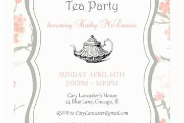 Tea Party Invitation Wording Best 25 High Invitations Ideas On