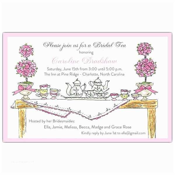 Tea Party Invitation Wording High Tea Invitations