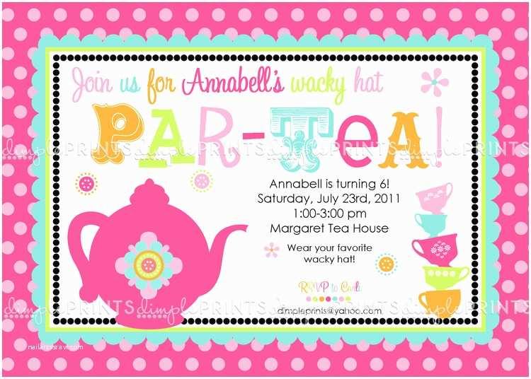Tea Party Invitation Wording Tea Party Invitation Quotes Quotesgram