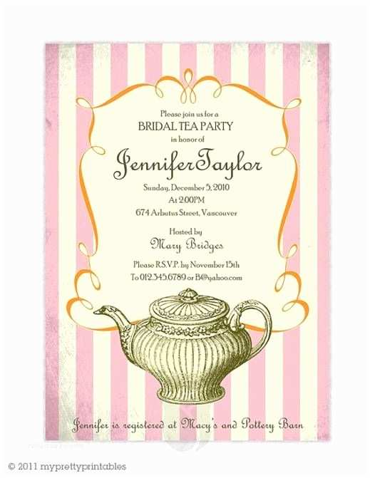 Tea Party Wedding Invitations 32 Best Spring Tea Party Wedding theme Images On