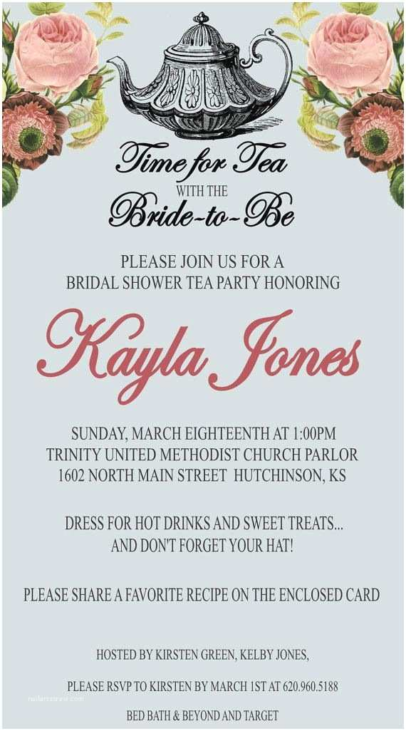 Tea Party Wedding Invitations 85 Best Possible Tea Party Invitations Images On Pinterest