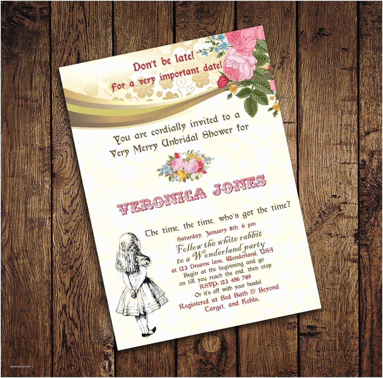 Tea Party Wedding Invitations Bridal Shower Tea Party Invitations