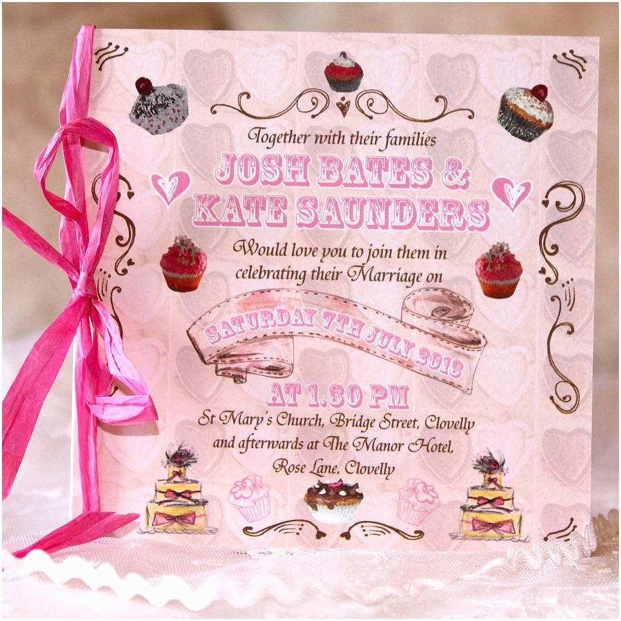 Tea Party Wedding Invitations Tea Party Wedding Stationery Range by Bedcrumb
