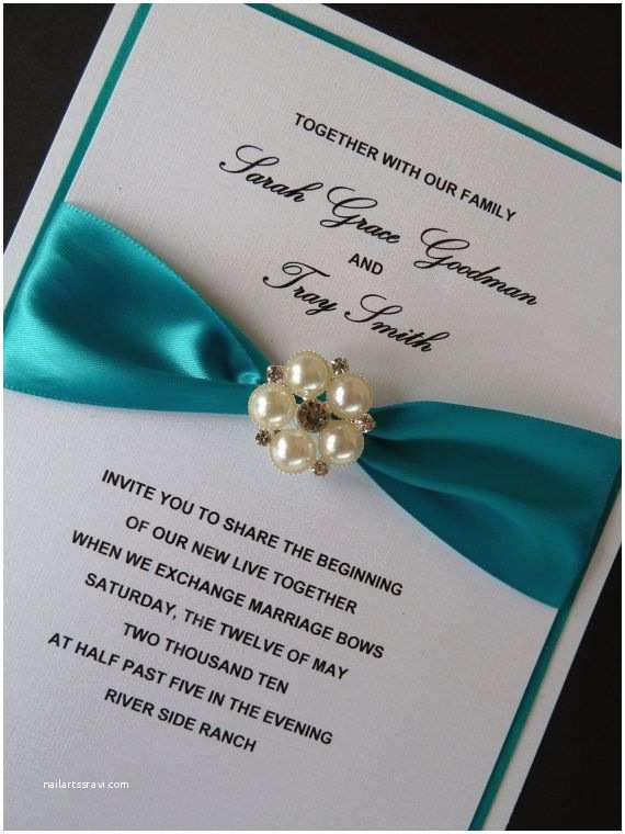 Teal Wedding Invitations 25 Best Images About Teal Wedding Invitations On Pinterest