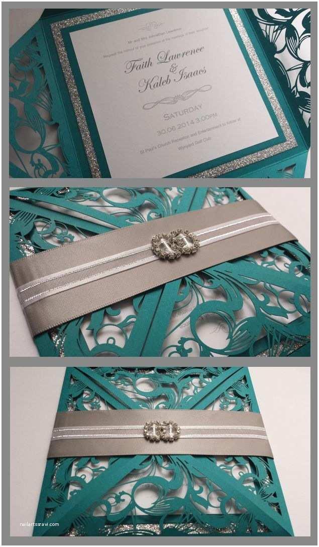 Teal Wedding Invitations Best 25 Teal Wedding Invitations Ideas On Pinterest