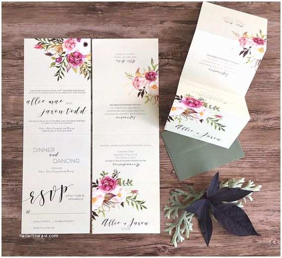 Tear Off Rsvp Wedding Invitations 580 Best Gwenmarie Designs Images On Pinterest