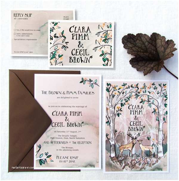 tear off rsvp wedding invitations uk