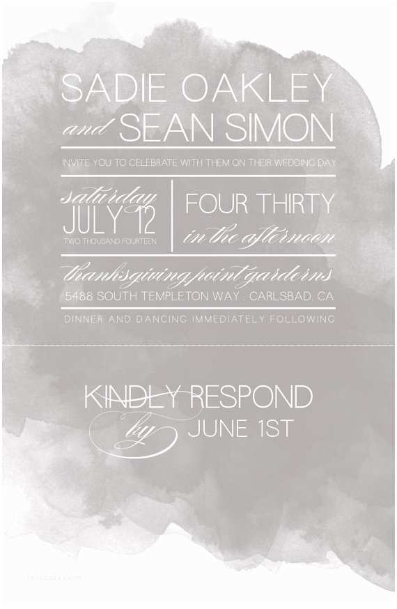 Tear Off Rsvp Wedding Invitations Wedding Invitations with Tear Off Perforated Rsvp