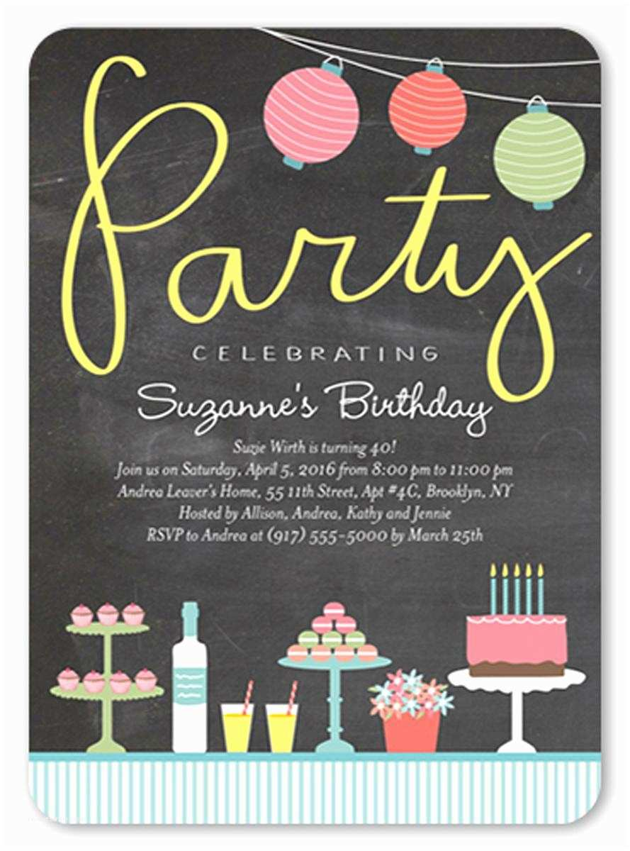 Teen Birthday Invitations Teen Girl Birthday Party Invitations