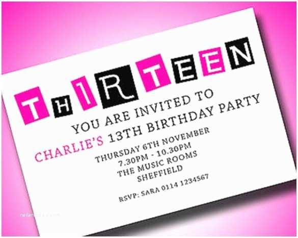 Teenage Party Invitations 18 Teenage Birthday Invitations – Free Psd Vector Eps