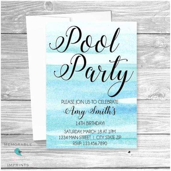 Teenage Party Invitations Birthday Invitation for Teenagers – orderecigsjuicefo