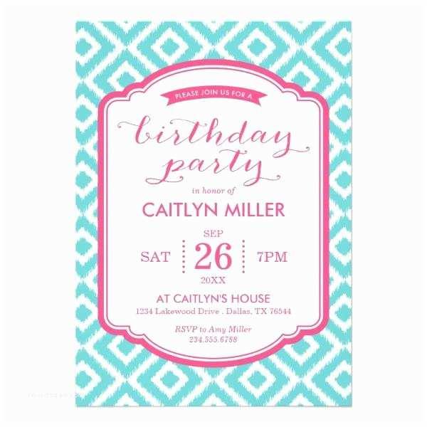 Teenage Party Invitations Teen Birthday Invitations