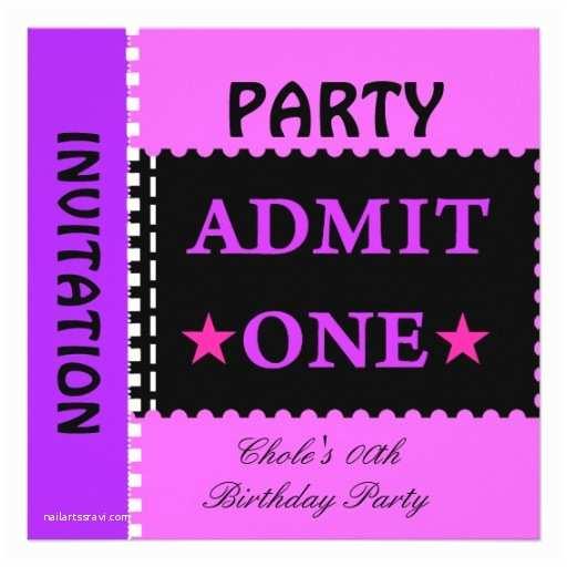 Teenage Party Invitations Teen Invitations