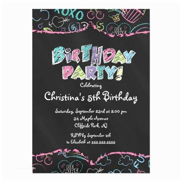 Teenage Party Invitations Unique Teen Birthday Invitations