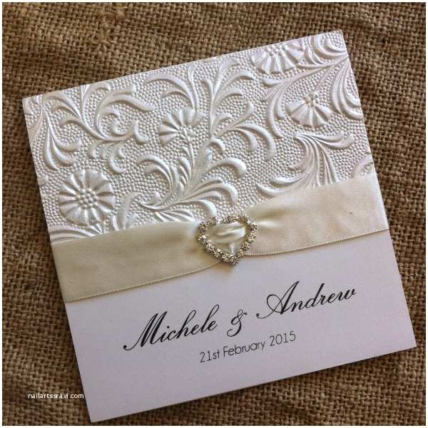 Textured Paper for Wedding Invitations Embossed & Textured