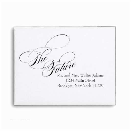 The Future Mr and Mrs Wedding Invitation the Future Mr & Mrs Rsvp Envelope Card Wedding