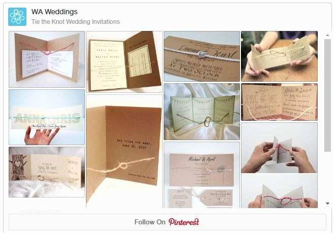 The Knot Wedding Invitations Tie the Knot with these Wedding Invitations