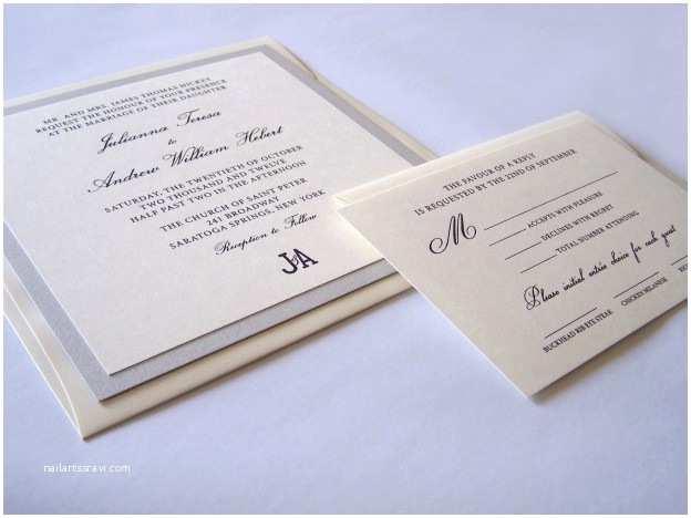 Thermography Wedding Invitations thermography Wedding Invitation