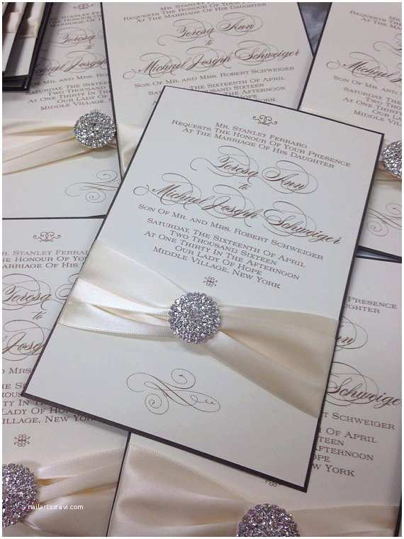 wedding invitations thermography invitations elegant wedding 11