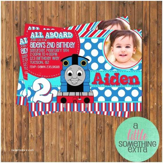 Thomas the Train Birthday Invitations 86 Best Images About Thomas Train Invitations On Pinterest