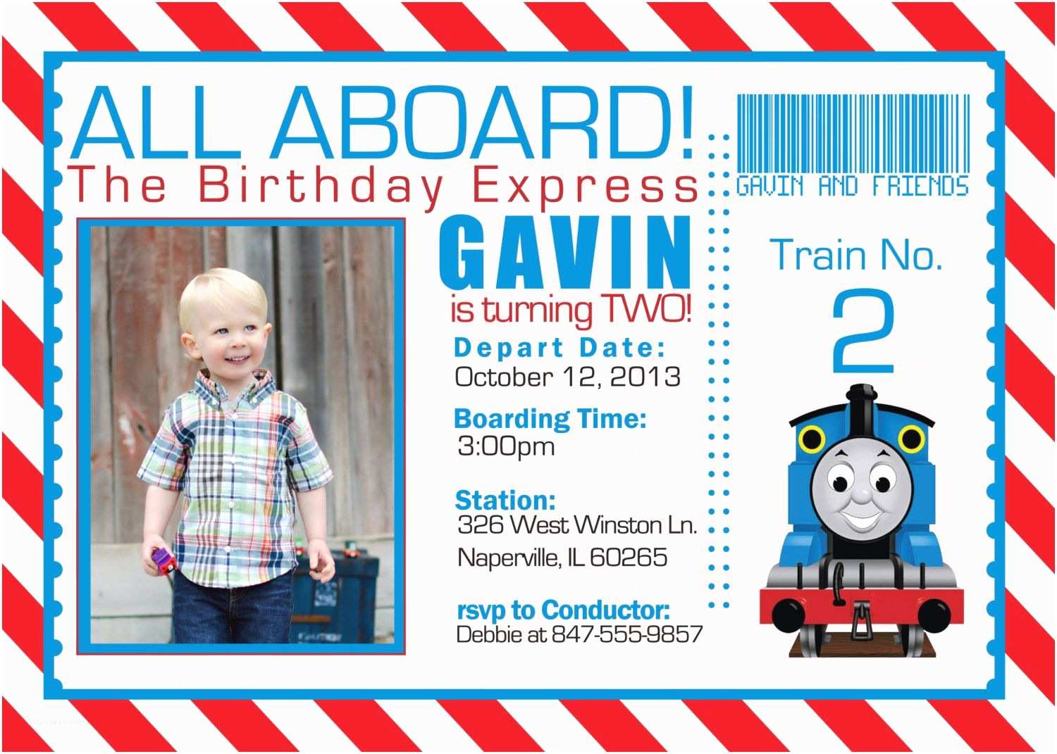thomas the train birthday invitations thomas the engine invitation