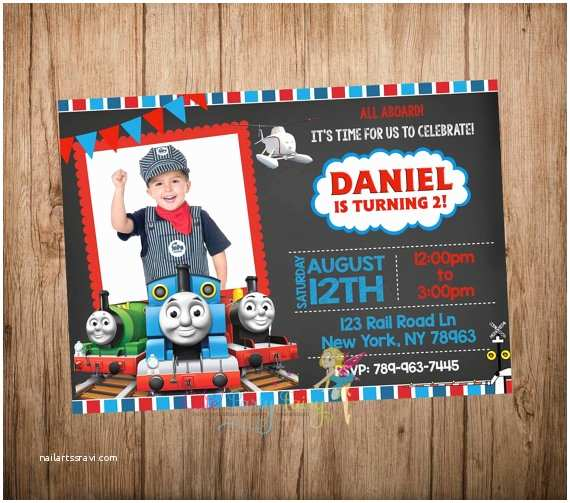Thomas the Train Birthday Invitations Thomas the Train Birthday Invitation Thomas the by