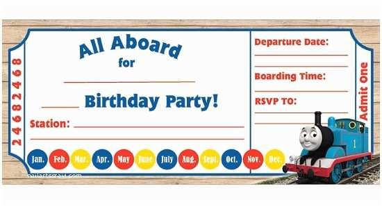 Thomas the Train Birthday Invitations Thomas the Train Birthday Invitations Ideas – Bagvania