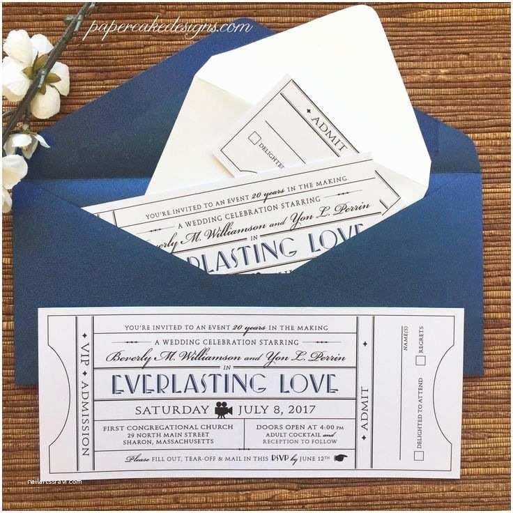 Ticket Stub Wedding Invitations 47 Best Rodeo Invitation Images On Pinterest