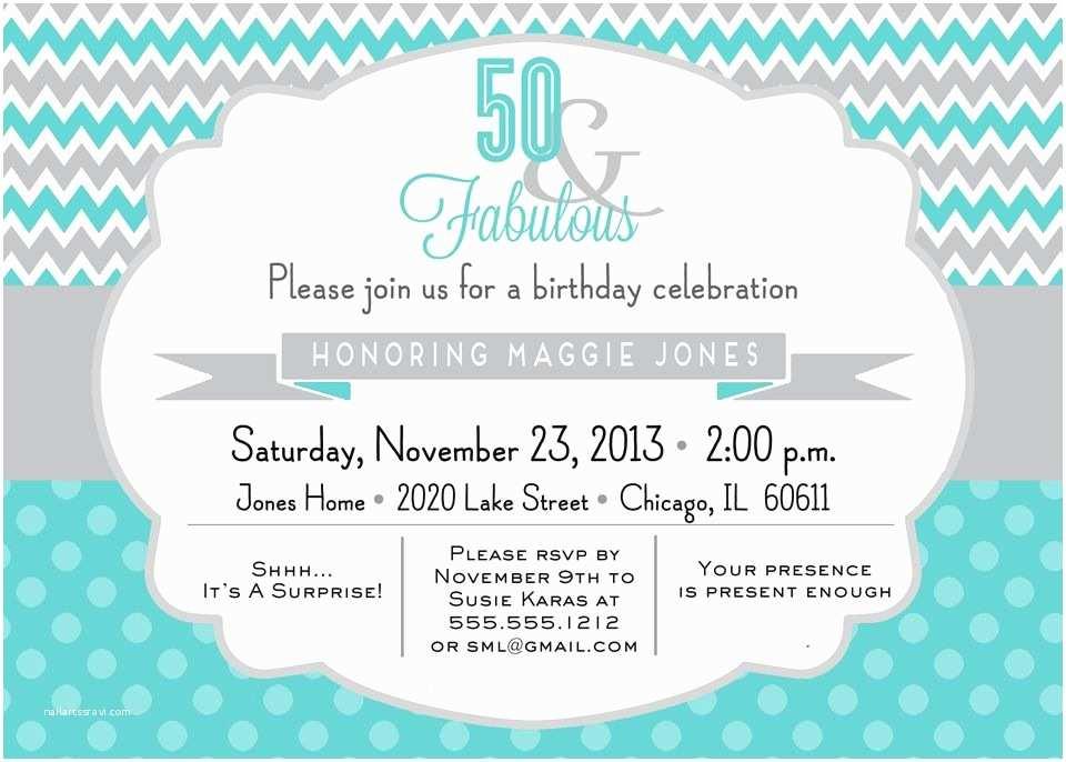 Tiffany Blue Baby Shower Invitations 50 & Fabulous Chevron Birthday Invitation Diy Printable