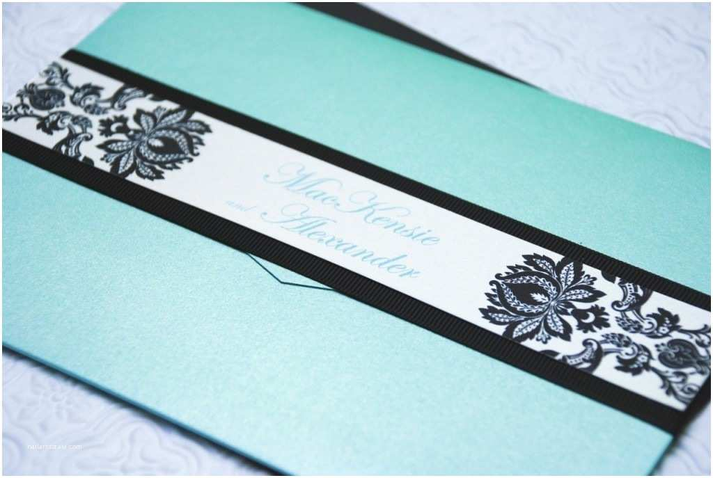 Tiffany Blue Pocket Wedding Invitations the Gallery for Serendipity Font