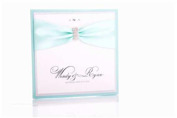 Tiffany Blue Pocket Wedding Invitations Tiffany Blue Pocketfold Wedding Invitation