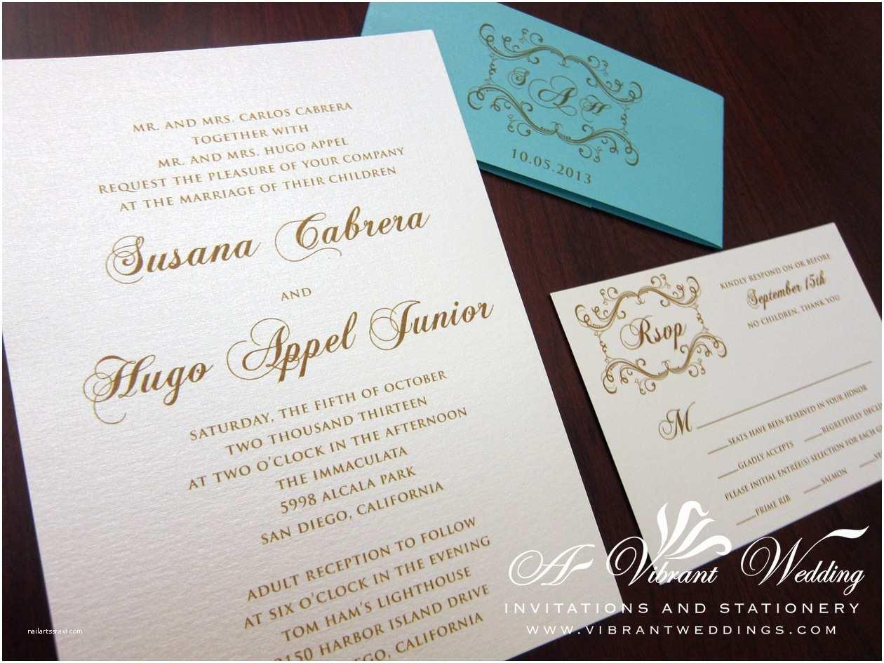 Tiffany Blue Wedding Invitations Tiffany Blue Wedding Invitation – A Vibrant Wedding