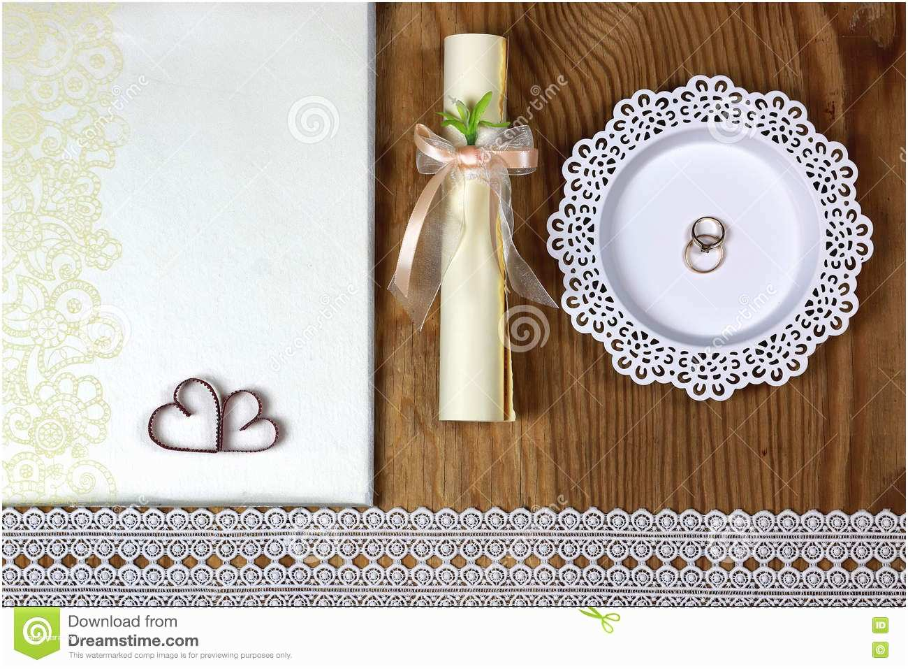 Time Frame for Wedding Invitations Wedding Accessories and Invitations to Frame Light Wooden