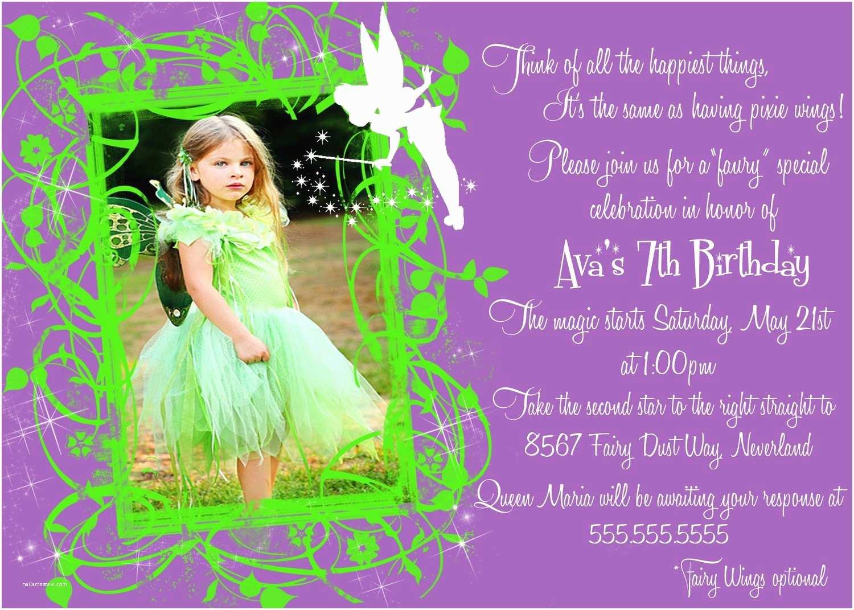 Tinkerbell Birthday Invitations Tinkerbell Birthday Invitations – Gangcraft