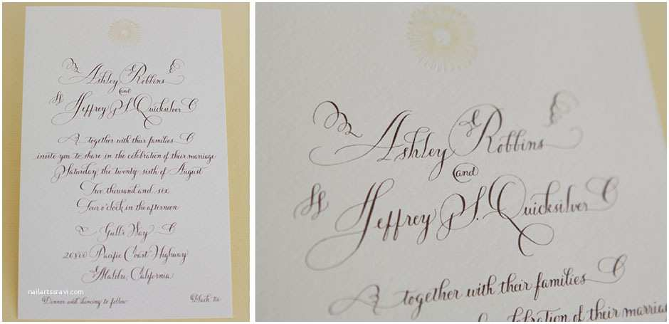 Tiny Prints Wedding Invitations Unique Calligraphy Wedding Invitation Tiny Pine Press