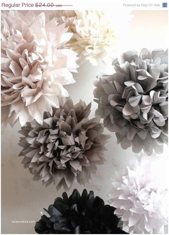 Tissue For Wedding Invitations 12 Tissue Paper Wedding Decorations Poms Tissue